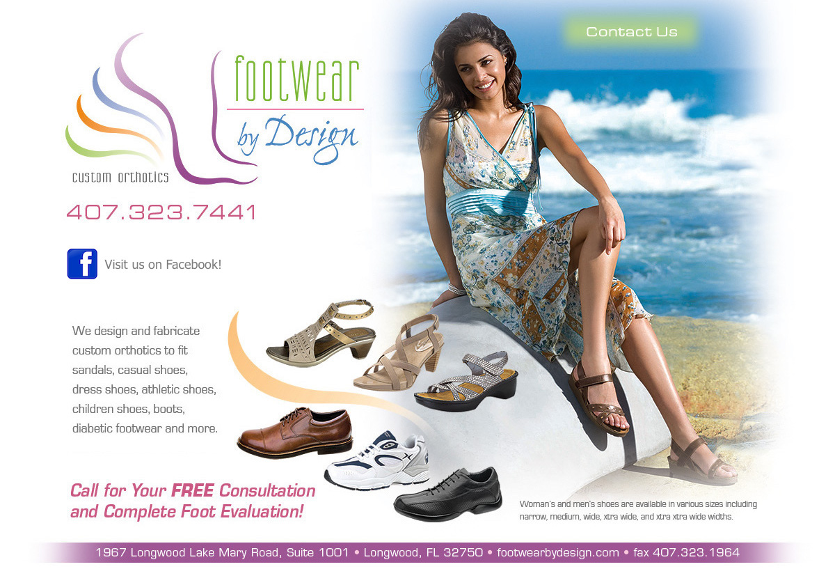Footwear By Design Coming Soon!